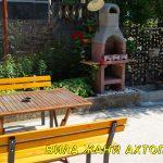 Вила Жани Ахтопол - двор