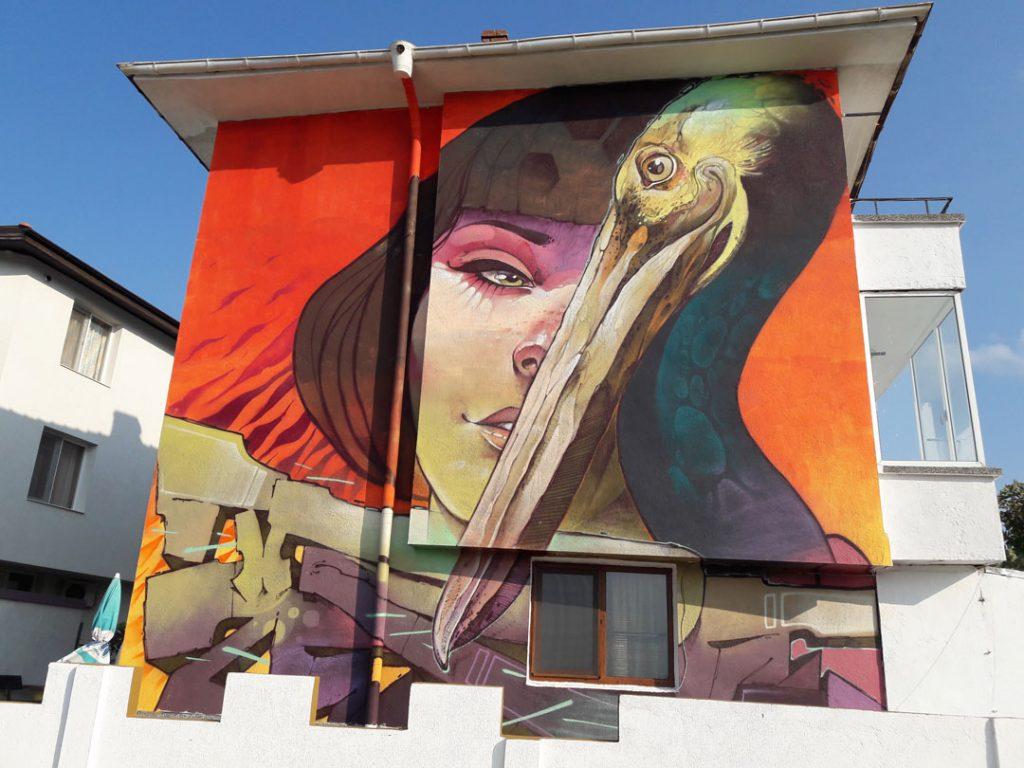 Ахтопол картини по фасадите