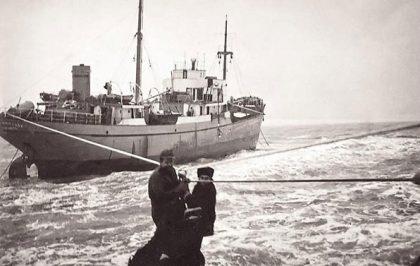 Корабокрушението на гръцкия кораб Свети Никола в Ахтопол през 1963 г.