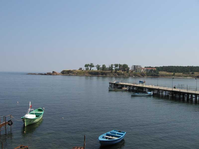 Нос Свети Яни в залива на Ахтопол