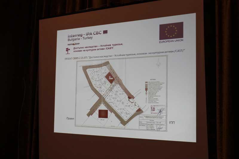 Подобряване на достъпа до късноантична и средновековна крепост в Ахтопол. Крепостта в Ахтопол по-достъпна за туристи